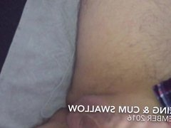 Jerking & vidz Cum Swallow