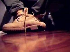 Boots, socks vidz and barefeet