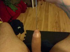 Playing around vidz with new  super urethral sounds for the first time
