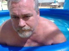 Naked Pool vidz Dad