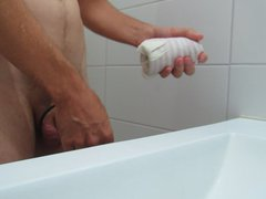 Big oozing vidz ejaculation using  super my DIY pussy #3