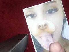 Hands free vidz cum Tribute  super to Ariana Grande