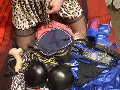 Sperm on vidz lingerie stewardes  super after photo sesion