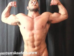 Alpha smoking vidz hunk dominates  super with poppers breath control