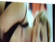 Margot Robbie vidz Cum Tribute  super (1)