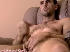 Amatuer dude vidz Billy enjoys  super in hot solo play on a sofa