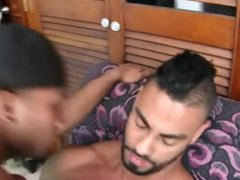 Creampie then vidz Facial for  super the Sexy Black Bitch
