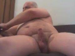 Italian Papa vidz Jerks His  super Cock
