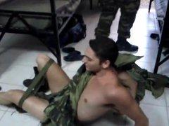 Greek soldier vidz gets depantsed  super - underwear