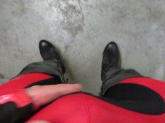 7 inch vidz heel platform  super boots after cycling
