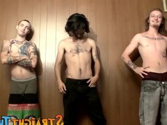 Three dudes vidz Blinx Devin  super and Kenneth jerks in front of camera