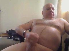 Bald Dad vidz Cums
