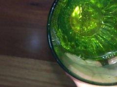 Pissin in vidz a glass  super - NEW