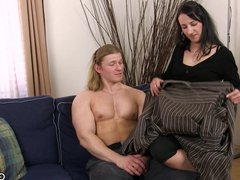 First time vidz gay sex  super with muscle man