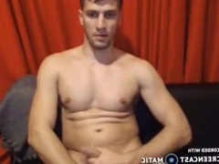 Guy with vidz big cock  super pisses on cam and shoots huge load