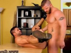 Gay man vidz rims and  super eats cum Dominic Fucked By A Married Man