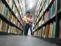 Jerking in vidz the library