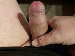 masturbating my vidz cock for  super you
