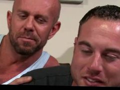 Mature gays vidz sucking and  super pounding in bed