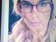 WWE Lana vidz cum tribute  super #3