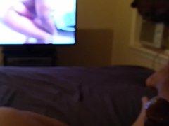 Jerking off vidz to a  super naked twerking bubble butt male