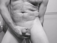 nakedguy1965 close vidz black and  super white HD dildo fucking