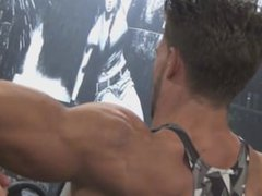 COMPILATION OF vidz HUGE -  super HARD - HOT- BICEPS