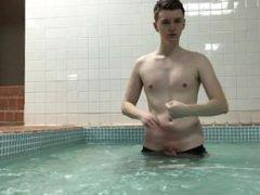 Risky Public vidz Nudity By  super Teenage Twink Boy - Nipple Play & Masturbation Teen