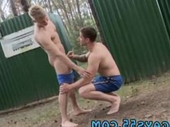Black gay vidz man jacking  super off outdoors he catches sight of this guy in some