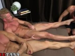 Hot gay vidz man boy  super feet Ricky Hypnotized To Worship Johnny & Joey