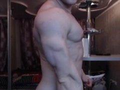 Super Sexy vidz Ukrainian Muscle  super Studddddddd Flexing