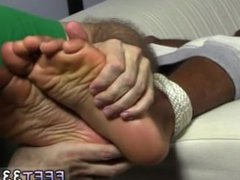 Gay twink vidz boy hardcore  super foot fetish movie Mikey Tied Up & Worshiped