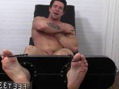 Tickling the vidz sleeping guys  super feet gives him a boner gay Trenton Ducati