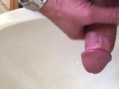 Stroking my vidz cock