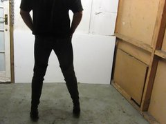 My oldest vidz thigh boots  super showing them off