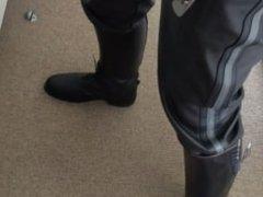 Leather Jerk vidz off
