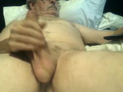 Grandpa Wanking vidz Uncut Big  super Cock Cums