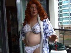 Naughty Gigi vidz is a  super naughty redhead