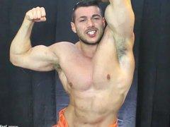 Muscle man vidz prison cock
