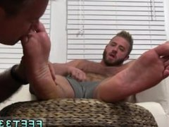 Pics of vidz black cock  super cumming on guys feet gay Aaron Bruiser Lets Me Worship