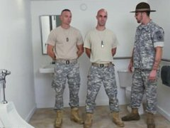 Army lads vidz sucking and  super guys in army gay Good Anal Training