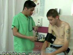 Doctor examines vidz endowed gay  super man and both