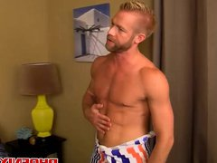 Beautiful Ian vidz Levine has  super a passionate sex with Christopher