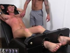 Hot feet vidz sexy men  super gay first time Connor