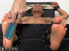 Gay foot vidz group movies  super Mikey Tickle d In The Tickle Chair