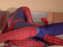 HAWT GAY vidz TWIN SPIDERS  super FUCK HARD AND SPANK HARDER