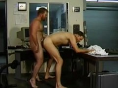 Experienced gay vidz stud drills  super his buddy's ass