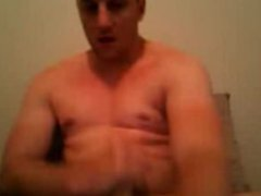 hunk playing vidz on webcam