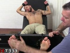 Toe licking vidz old gay  super hairy bod and size 11