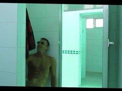 Shower Room vidz Jerk Off  super and Cum